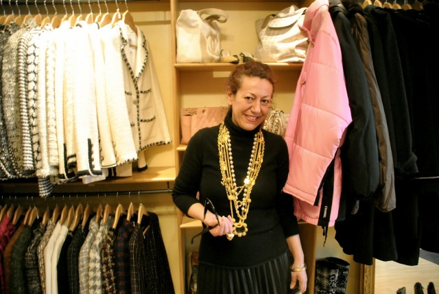 Les 3 Marches de Catherine B Paris Vintage Chanel et Hermes Interview by The Clothes Whisperer Blog Kristin Knox_0080